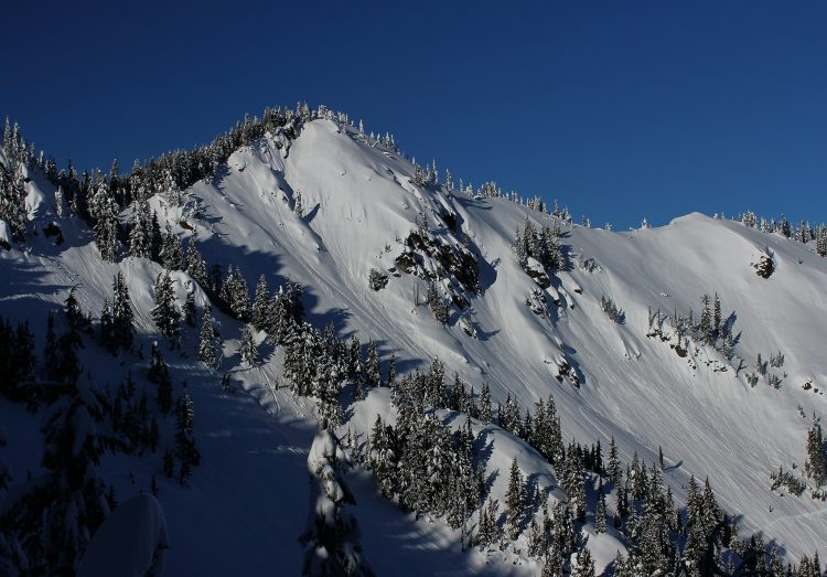Mount Margaret from the south ridge