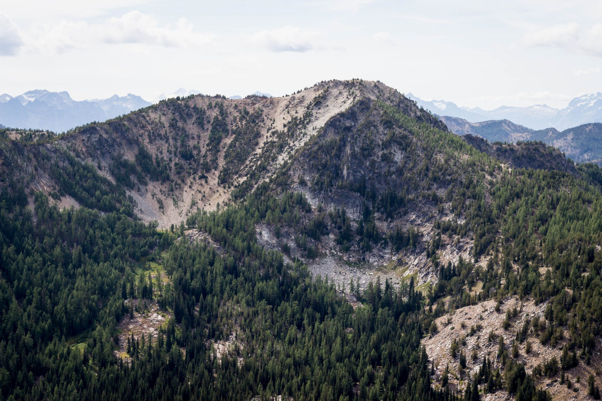 North Navarre Peak from Bryan Butte