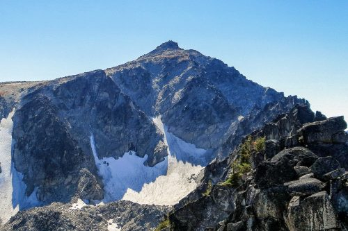 Cannon Mountain in The Enchantments / 魔法森林裏的加農山