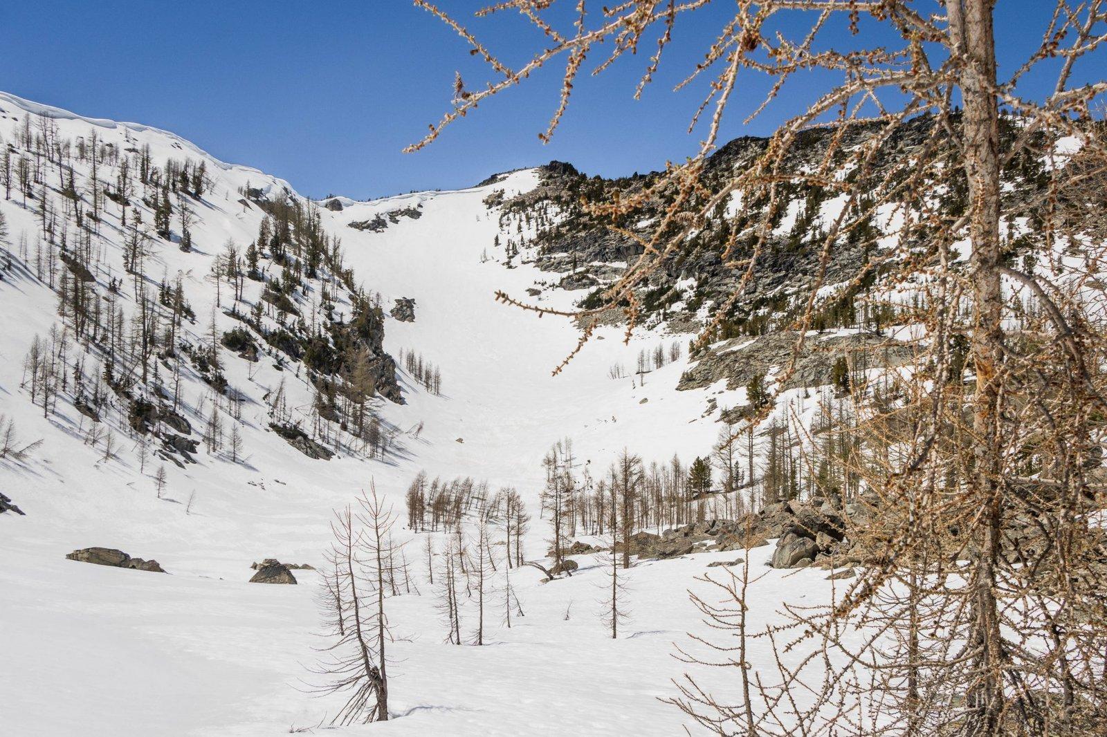 The unimpressive side of Rennie Peak