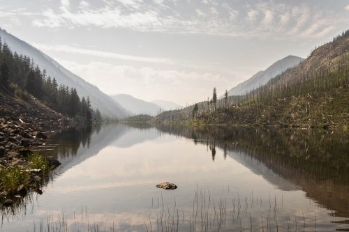 Read more about the article Black Lake in Pasayten Wilderness via Lake Creek Trail / 黑湖