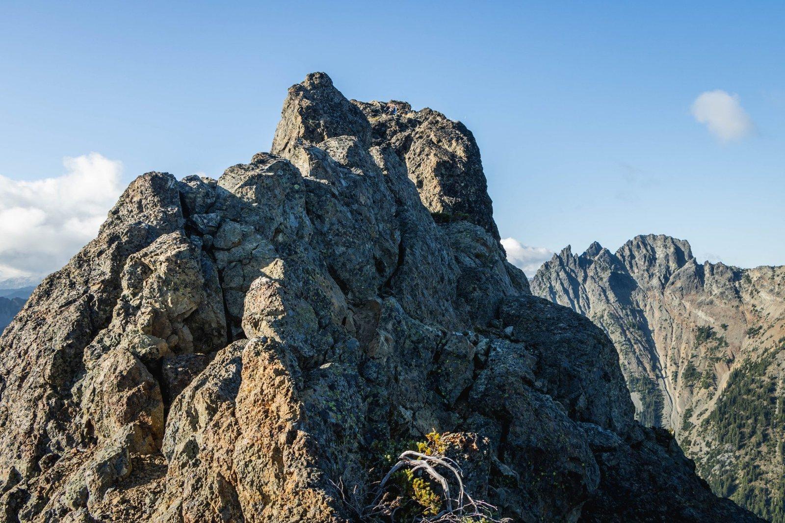 Leaving Lobox Mountain